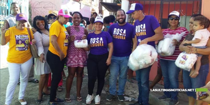 Periodista Rosa Escoto se posesiona en la preferencia de la gente de SDE