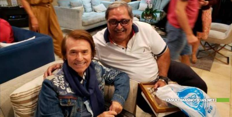 "Raphael arribó este domingo al país para presentar ""RESinphónico"""