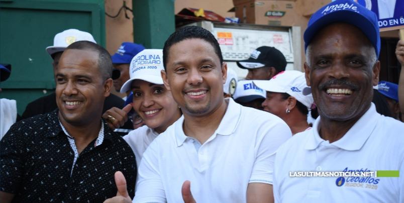 Candidato a diputado Elías Matos del PRM agradece a Dios y a sus electores por ser más el votado en el DN
