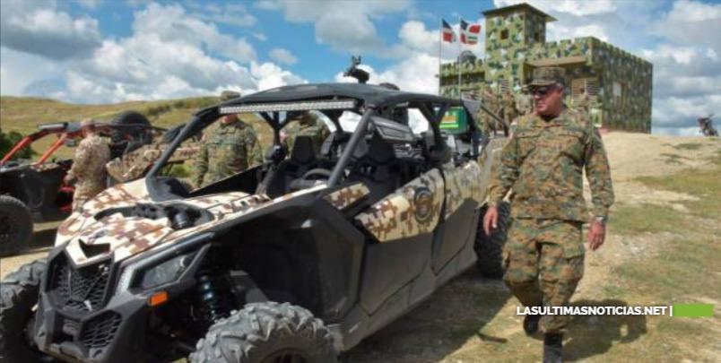 Ministro de Defensa llama a las tropas dominicanas a estar atentas ante crisis en Haití