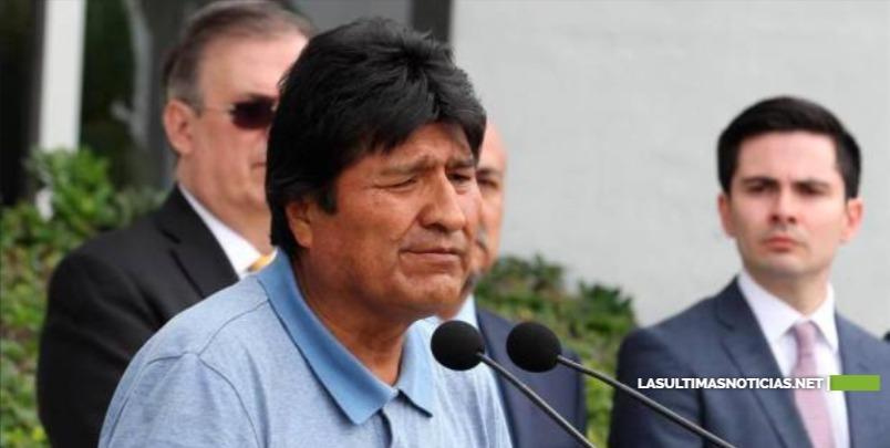 """Evo Morales tilda de """"golpe de estado"""" la """"autoproclamación"""" de Jeanine Añez como presidenta de Bolivia"""