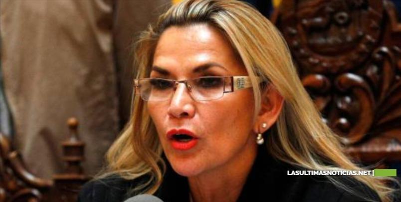 Presidenta interina Jeanine Añez , dice que no promulgará una ley de inmunidad a Evo Morales