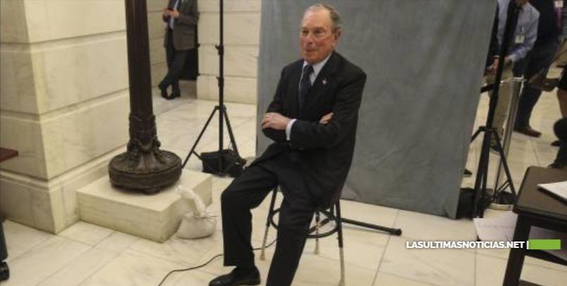 Michael Bloomberg lanza campaña presidencial