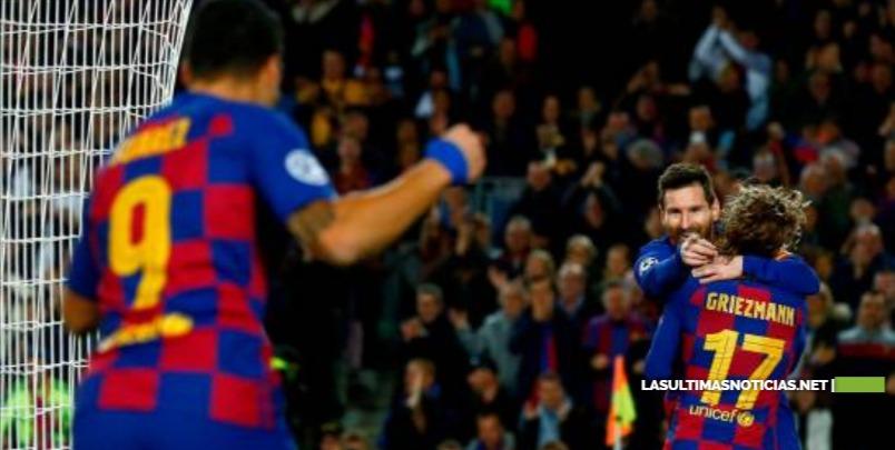 Lionel Messi mete al Barcelona en octavos de Champions en su partido 700
