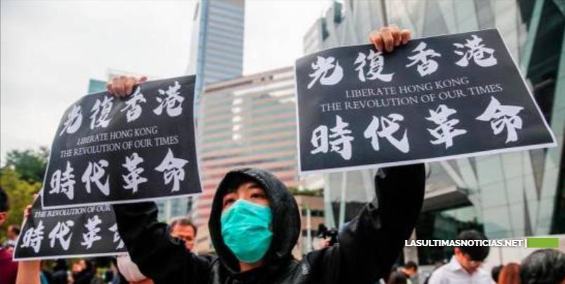 """China amenaza a Estados Unidos con """"represalias"""" tras ratificación de ley sobre Hong Kong"""