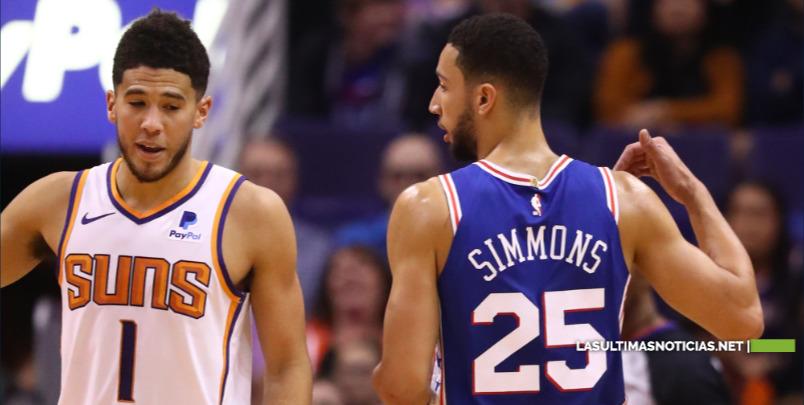 Los Suns rompen invicto a 76ers.