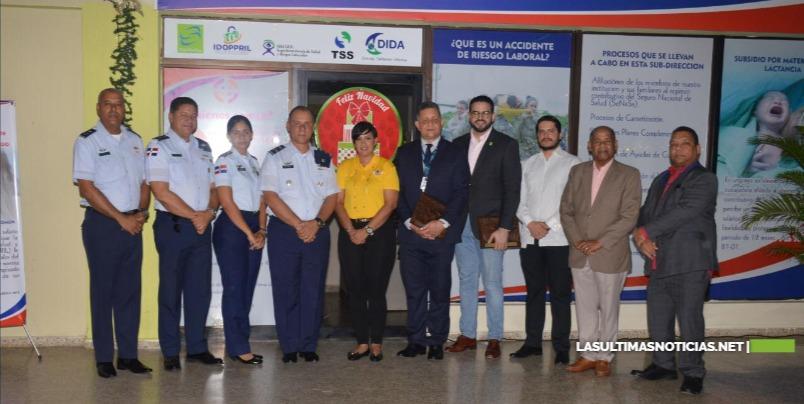 FARD inaugura oficinas de la Subdirección de Salud y Riesgos Laborales de la institución militar.