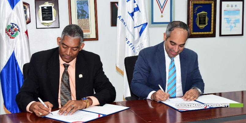 ITLA firma acuerdo con la Confederación Dominicana de Unidad Evangélica