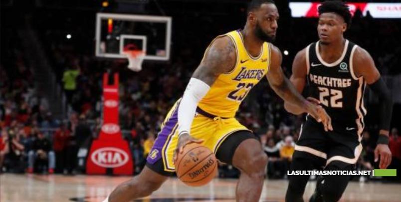 LeBron James anota 32 puntos y Los Angeles Lakers superan a Atlanta Hawks