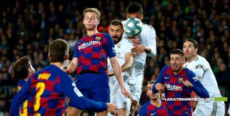 Barcelona y Real Madrid hacen tablas en Clásico marcado por protestas independentistas