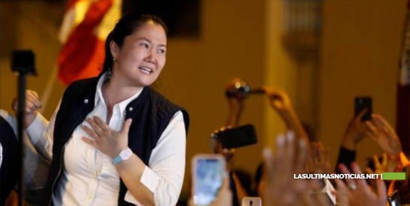 Tribunal Constitucional de Perú ratifica liberación de Keiko Fujimori