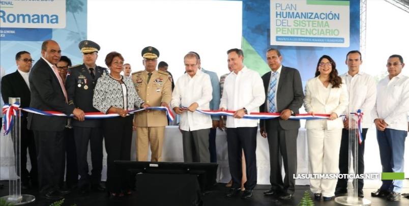 Presidente Medina inaugura moderno Centro para Adolescentes en Conflicto con la Ley Penal en La Romana