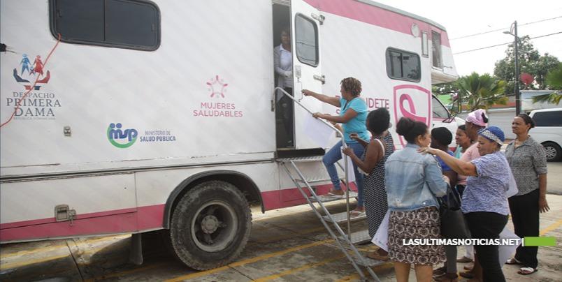 Despacho Primera Dama realizó más de 15 mil mamografías gratis en Enero-diciembre 2019