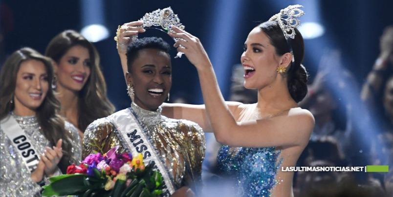 Miss Sudáfrica, Zozibini Tunzi de 26 años es la nueva Miss Universo