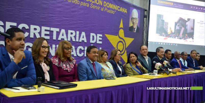 El Partido de la Liberación Dominicana formaliza apertura de su padrón