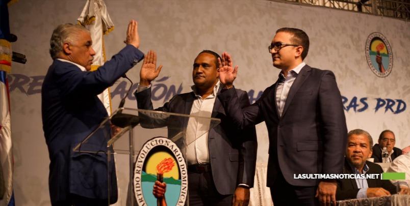 PRD presenta sus candidatos municipales