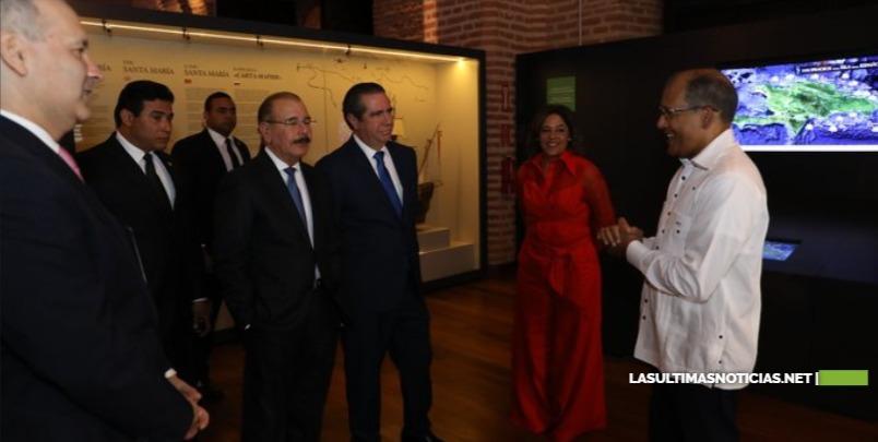 Danilo entrega Museo Atarazanas Reales, valor histórico al servicio de la gente, la economía y la cultura