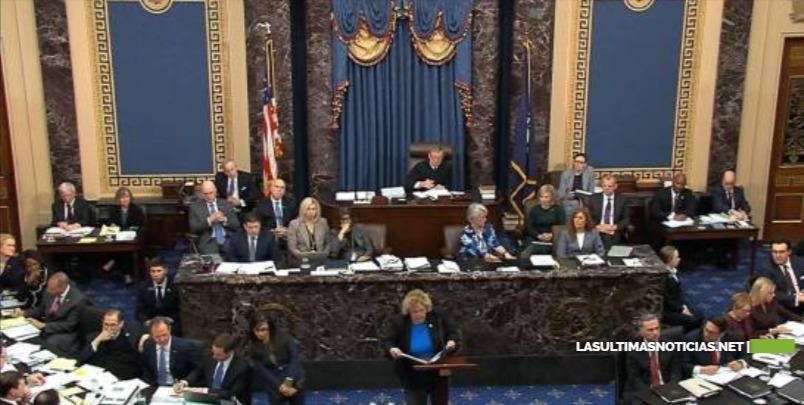 Senado de EEUU aprueba reglas para juicio político a Trump