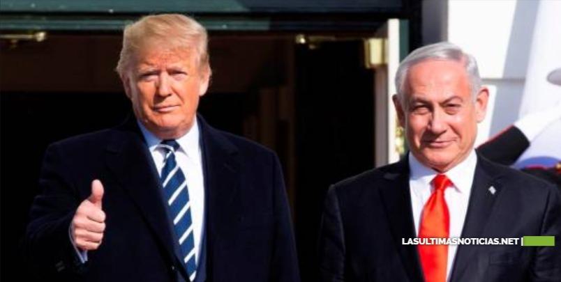 Donald Trump presentará este martes su plan de paz para Israel y los palestinos