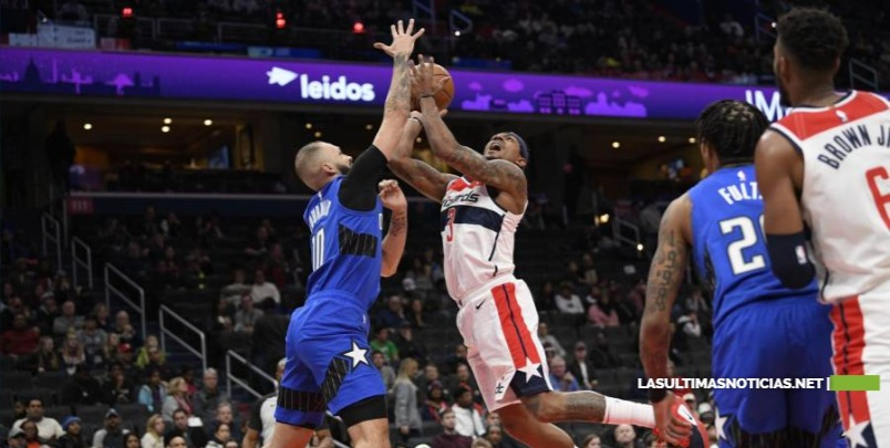 Augustin anota 25 puntos y Magic gana 122-101 a Wizards
