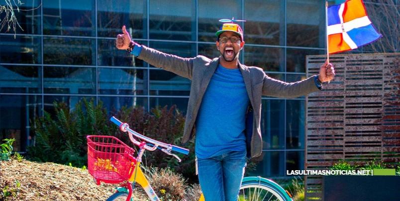 Joven Dominicano  sin título universitario y trabajando en Google