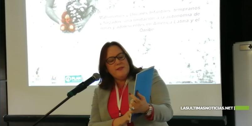 Ministra de la Mujer reitera en Chile el compromiso estatal de eliminar el matrimonio infantil y las uniones tempranas
