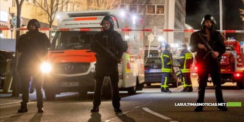 Nueve muertos en un tiroteo en Alemania