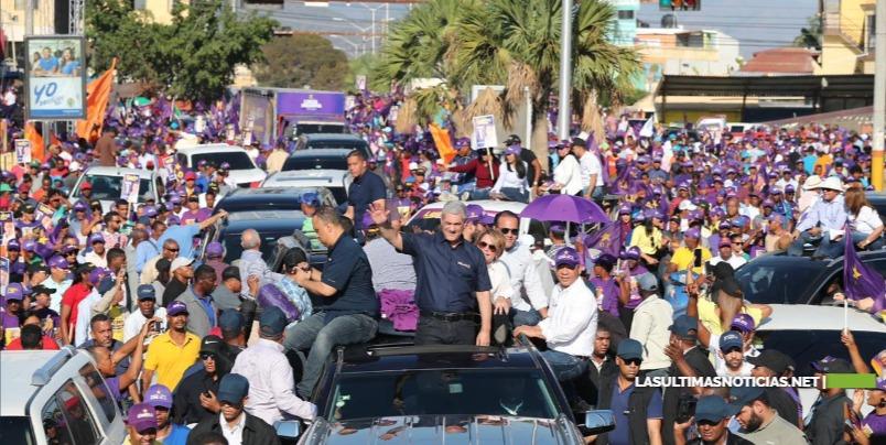 La provincia de San Juan se volcó este viernes en respaldo a su próximo Presidente y autoridades municipales.