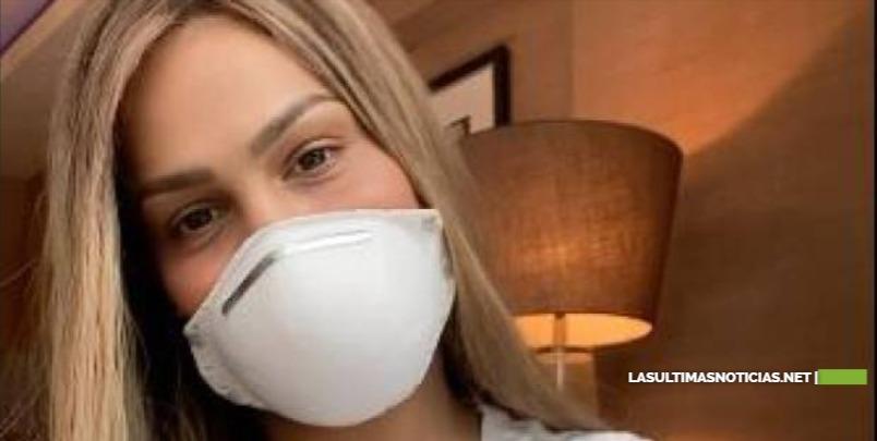 Caroline Aquino afirma aún no se ha hecho la prueba del coronavirus pese a presentar síntomas leves