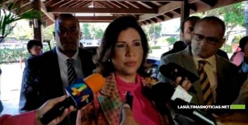 Margarita Cedeño sobre encuesta Greenberg: habría que hacer otra fotografía luego de mi escogencia como vicepresidenta