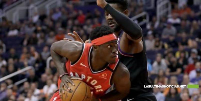 Raptors remontan ante Suns y cortan mala racha con ofensiva de Pascal Siakam