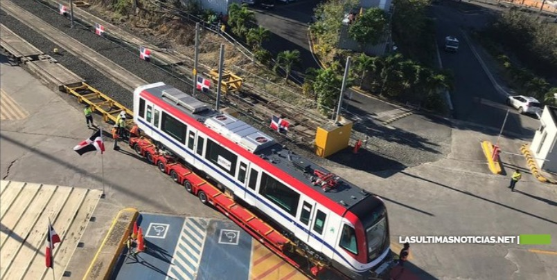 Llegan nuevos vagones para el Metro de Santo Domingo