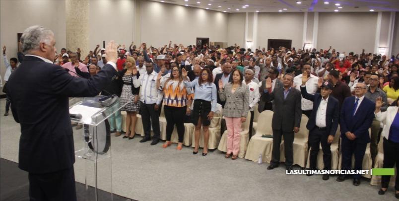 Dirigentes políticos, religiosos y sociales locales se integran al PRD