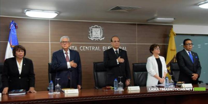 JCE aprueba cronograma electoral deberá ejecutarse en 66 días