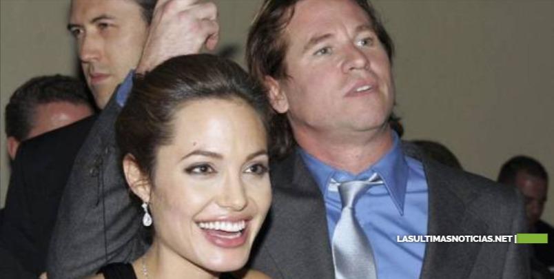 El romance secreto de Angelina Jolie y Val Kilmer que acaba de salir a la luz