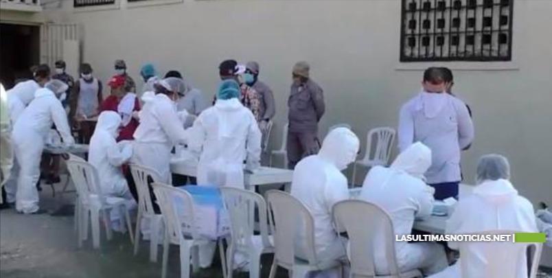 Trasladan 49 reclusos de La Victoria positivos y sospechosos de tener COVID-19