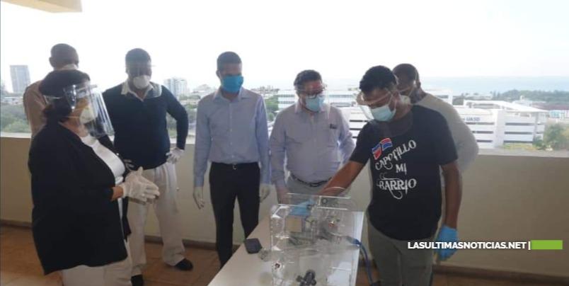 UASD desarrolla ventilador  para pacientes afectados con coronavirus