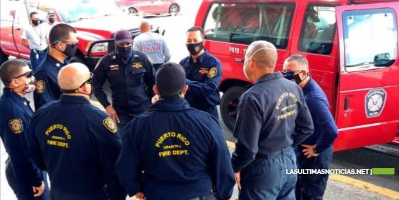 Puerto Rico envía equipo de bomberos a RD para contener incendio en Duquesa