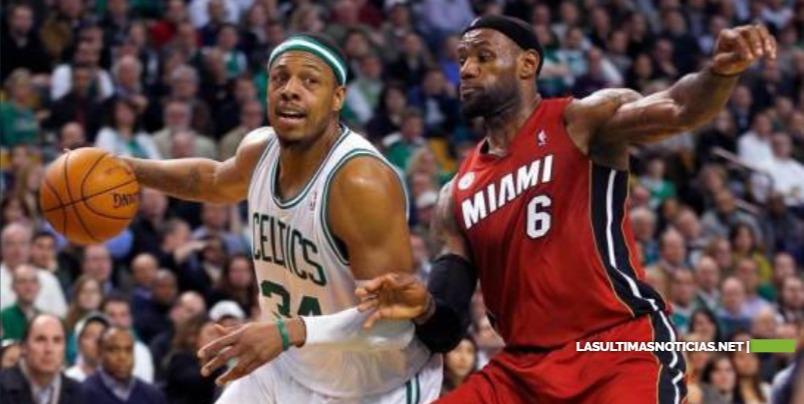 "Paul Pierce: ""LeBron James no está entre los siete mejores de la historia"""