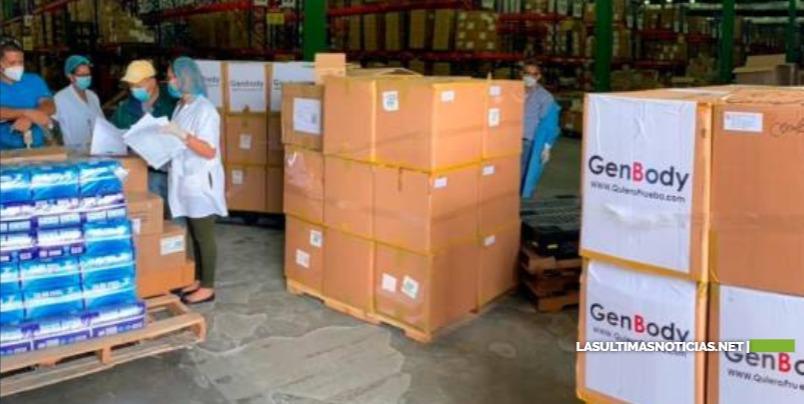 SNS entrega tres mil pruebas rápidas al Servicio Regional Metropolitano