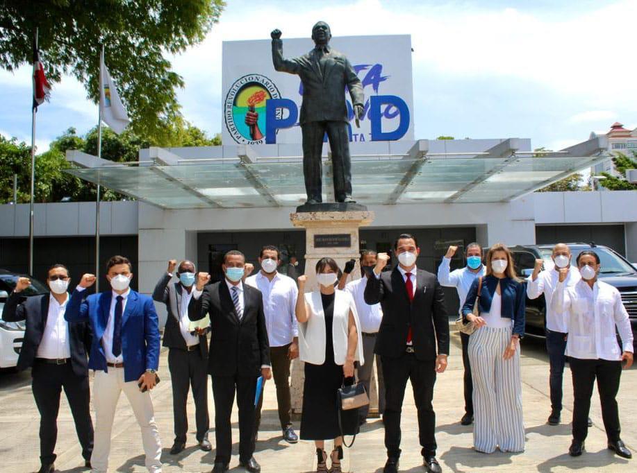 PRD juramenta a Marcel Fonfrias Gudy ex candidato alcalde del PDI en el Distrito Nacional