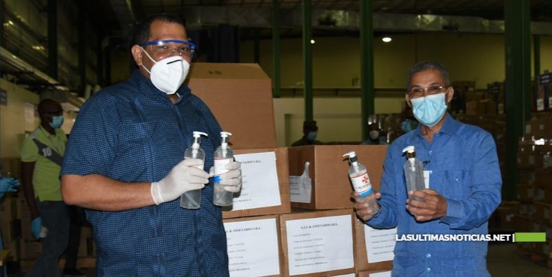 Promese/Cal dona insumos de protección al Ayuntamiento de Santo Domingo Norte para  prevenir el COVID-19