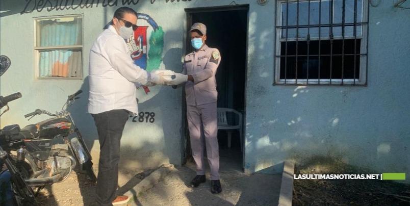 Candidato a diputado Ysrael Abreu continúa distribución de alimentos para mitigar COVID-19