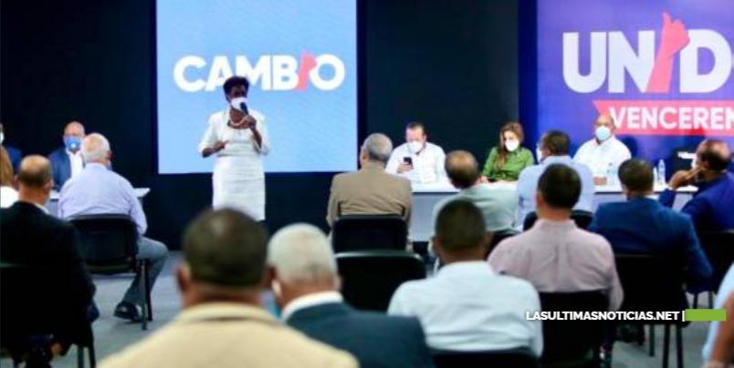 PRM reúne a sus alcaldes y directores de distritos