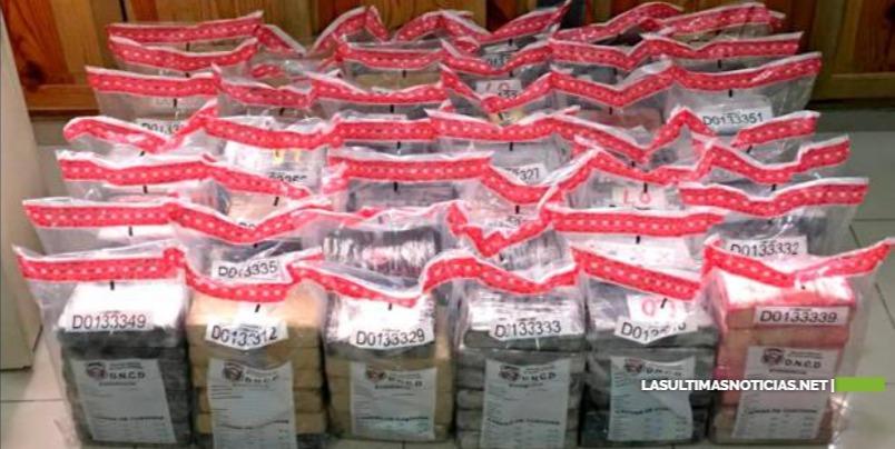 DNCD se incauta 253 paquetes de cocaína en contenedor del Multimodal Caucedo