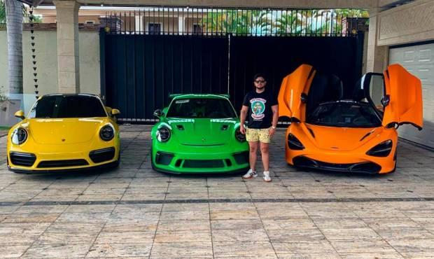 Los helicópteros y autos de alta gama confiscados al regidor del PRM y a su padre