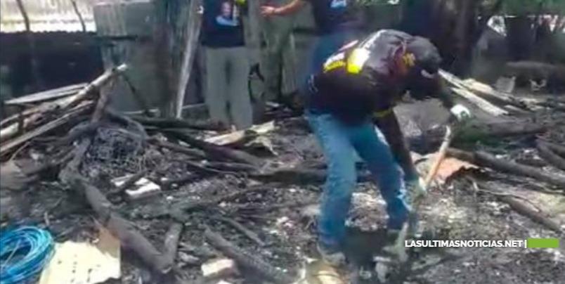 En Mao , Valverde un Incendio reduce a cenizas seis viviendas