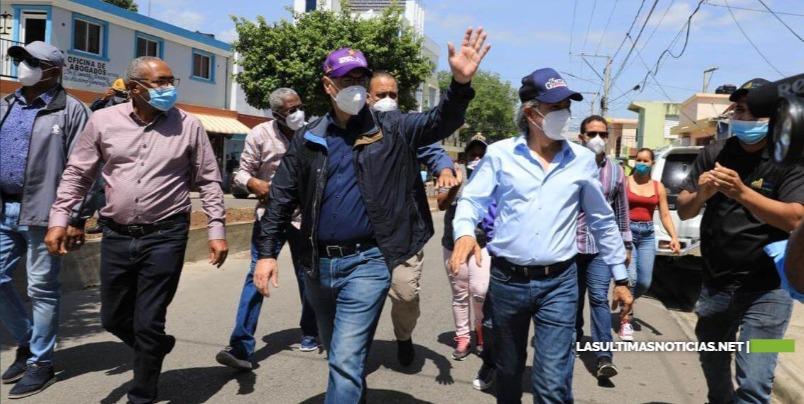 Gonzalo Castillo llama peledeístas a defender el voto en las urnas; recorre provincias Santiago Rodríguez y Valverde
