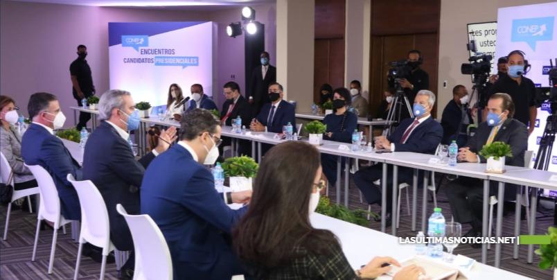 Luis Abinader invita empresariado a compartir proyecto de nación