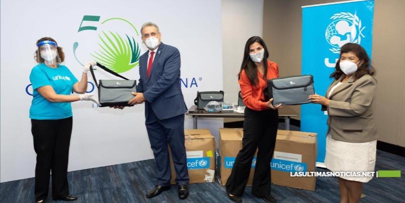 UNICEF y el Grupo Puntacana entregan cuatro ventiladores al Servicio Regional de Salud Este